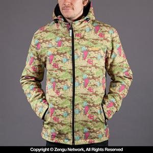 Scramble x Commes Des Grappler Flower Camo Jacket
